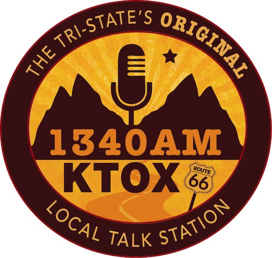 KTOX 1340AM and 104.1FM Logo